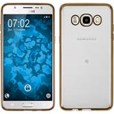 Silikon Hülle Galaxy J5 (2016) J510 Slim Fit gold