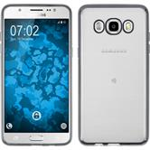Silikon Hülle Galaxy J5 (2016) J510 Slim Fit grau