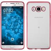 Silikon Hülle Galaxy J5 (2016) J510 Slim Fit pink