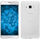 Silikon Hülle Galaxy J5 (2016) J510 transparent Crystal Clear + 2 Schutzfolien