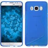 Silikon Hülle Galaxy J5 (2016) J510 S-Style blau