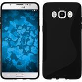 Silikon Hülle Galaxy J5 (2016) J510 S-Style schwarz