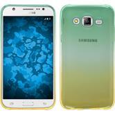 Silikonhülle für Samsung Galaxy J5 (J500) Ombrè Design:03
