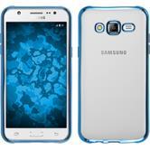 Silikon Hülle Galaxy J5 (J500) Slim Fit blau