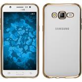 Silikonhülle für Samsung Galaxy J5 (J500) Slim Fit gold