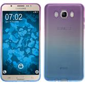 Silikon Hülle Galaxy J7 (2016) J710 Ombrè Design:04 + 2 Schutzfolien