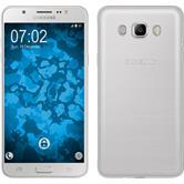 Silikon Hülle Galaxy J7 (2016) J710 Slimcase clear + 2 Schutzfolien