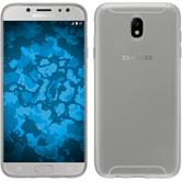 Silikon Hülle Galaxy J7 2017 transparent Crystal Clear + 2 Schutzfolien