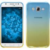 Silikon Hülle Galaxy J7 Ombrè Design:02 + 2 Schutzfolien