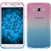 Silikon Hülle Galaxy J7 Ombrè Design:06 + 2 Schutzfolien