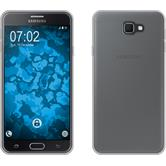 Silikon Hülle Galaxy J7 Prime transparent Crystal Clear + 2 Schutzfolien
