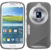 Silicone Case for Samsung Galaxy K Zoom S-Style gray