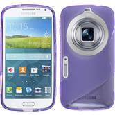 Silicone Case for Samsung Galaxy K Zoom S-Style purple
