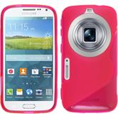 Silicone Case for Samsung Galaxy K Zoom S-Style hot pink