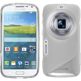 Silicone Case for Samsung Galaxy K Zoom S-Style transparent