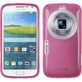 Silicone Case for Samsung Galaxy K Zoom transparent pink