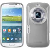 Silikon Hülle Galaxy K Zoom transparent weiß