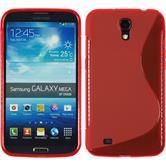 Silikon Hülle Galaxy Mega 6.3 S-Style rot