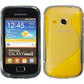 Silikon Hülle Galaxy Mini 2 S-Style grau