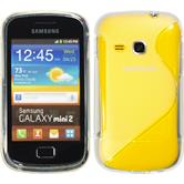 Silicone Case for Samsung Galaxy Mini 2 S-Style transparent