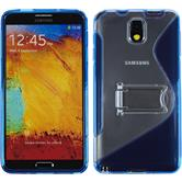 Silicone Case for Samsung Galaxy Note 3  blue