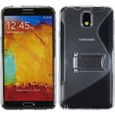 Silicone Case for Samsung Galaxy Note 3  gray