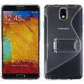 Silicone Case for Samsung Galaxy Note 3  transparent