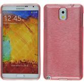 Silikon Hülle Galaxy Note 3 brushed rosa