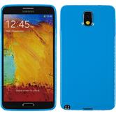 Silicone Case for Samsung Galaxy Note 3 Candy blue
