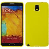 Silicone Case for Samsung Galaxy Note 3 Candy yellow