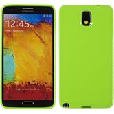 Silicone Case for Samsung Galaxy Note 3 Candy green