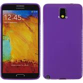 Silicone Case for Samsung Galaxy Note 3 Candy purple