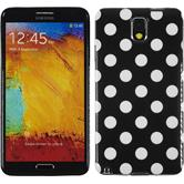 Silicone Case for Samsung Galaxy Note 3 Polkadot Design:01