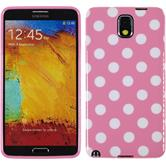 Silicone Case for Samsung Galaxy Note 3 Polkadot Design:02