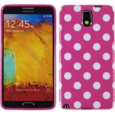 Silicone Case for Samsung Galaxy Note 3 Polkadot Design:03