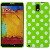 Silicone Case for Samsung Galaxy Note 3 Polkadot Design:05