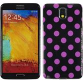 Silicone Case for Samsung Galaxy Note 3 Polkadot Design:07
