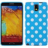 Silikon Hülle Galaxy Note 3 Polkadot Design:08