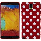 Silicone Case for Samsung Galaxy Note 3 Polkadot Design:09