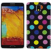Silicone Case for Samsung Galaxy Note 3 Polkadot Design:13