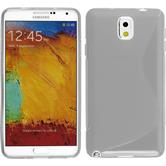 Silicone Case for Samsung Galaxy Note 3 S-Style transparent