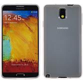 Silicone Case for Samsung Galaxy Note 3 transparent white