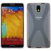 Silicone Case for Samsung Galaxy Note 3 X-Style transparent