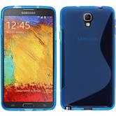 Silicone Case for Samsung Galaxy Note 3 Neo S-Style blue
