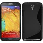 Silicone Case for Samsung Galaxy Note 3 Neo S-Style black