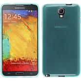 Silicone Case for Samsung Galaxy Note 3 Neo transparent turquoise