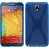 Silicone Case for Samsung Galaxy Note 3 Neo X-Style blue