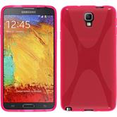 Silicone Case for Samsung Galaxy Note 3 Neo X-Style hot pink