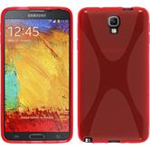 Silicone Case for Samsung Galaxy Note 3 Neo X-Style red
