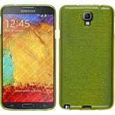 Silikonhülle für Samsung Galaxy Note 3 Neo brushed pastellgrün